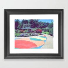 Dow Gardens Framed Art Print