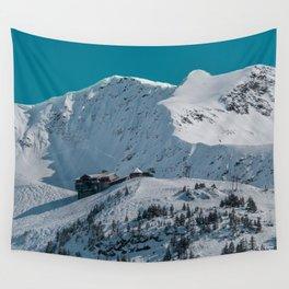 Mt. Alyeska Ski Resort - Alaska Wall Tapestry