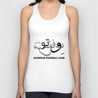 juventus Tank Tops featuring Juventus by Sport_Designs