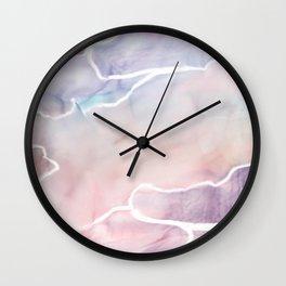 Watercolor texture Wall Clock