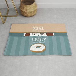 Real Cream Cheese Rug