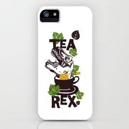 Tea Rex iPhone Case