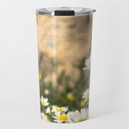 Spring Camomile Travel Mug