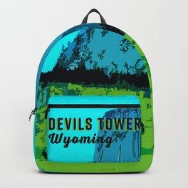 Devils Tower Wyoming Backpack