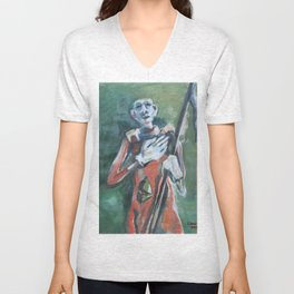 Those were Days of Roses, Poetry and Prose Unisex V-Neck