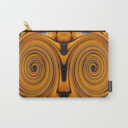 Orange fruit twirl Carry-All Pouch