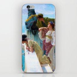 Lawrence Alma-Tadema - A Coign Of Vantage - Digital Remastered Edition iPhone Skin