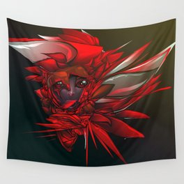 Wild Flower Z Wall Tapestry