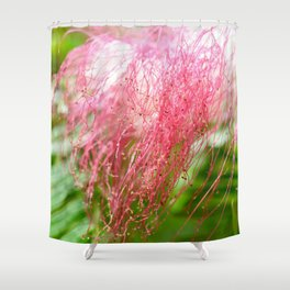 Pink Costa Rican Flower Shower Curtain