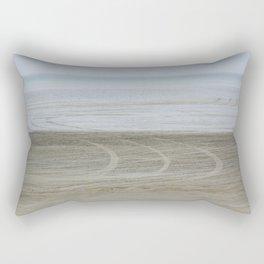 Airport on the beach Rectangular Pillow