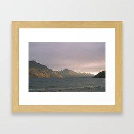 //02-05 DUSK Framed Art Print
