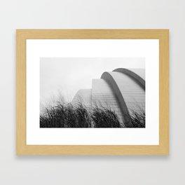 The Kauffman Center Framed Art Print