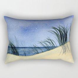 Dunes at Night Rectangular Pillow