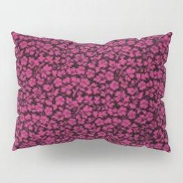 Pink Yarrow Vintage Flowers Pillow Sham