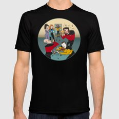 Star Trek Jam Band LARGE Black Mens Fitted Tee