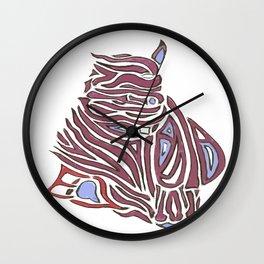 Exotic Aquatic Logo Wall Clock