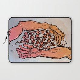 swollen hands make light work Laptop Sleeve