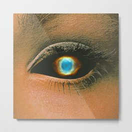 Cosmic eye  Metal Print