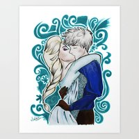 Cold as ice Art Print