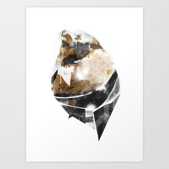 broken creature Art Print