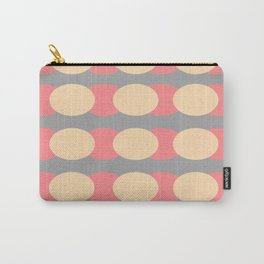 Modern Retro Style Spot Print Carry-All Pouch