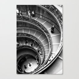 Vatican Stairway Canvas Print