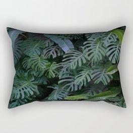 Night Tropic 7 Rectangular Pillow