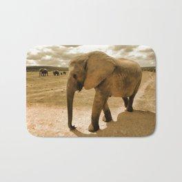Wildlife big Elephant Bath Mat