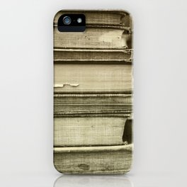 Sepia Stack iPhone Case