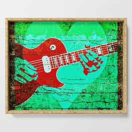 Guitar Love Serving Tray