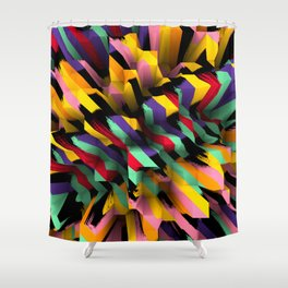 Pixx Shower Curtain