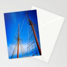 Boat mast 1 Stationery Cards