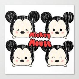 Tsum Tsum Mice Canvas Print