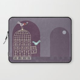 Leaving the Birdcage Laptop Sleeve