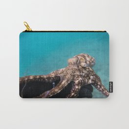 Octopus Holding on Carry-All Pouch