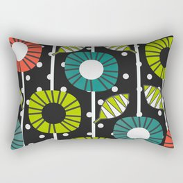 Night bloomers Rectangular Pillow