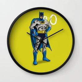 Hero Smoking Wall Clock