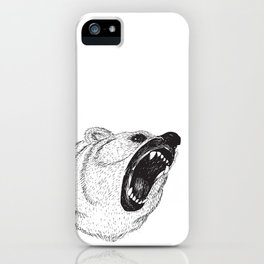Hungry Bear iPhone Case