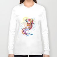 phoenix Long Sleeve T-shirts featuring Phoenix by Nick La