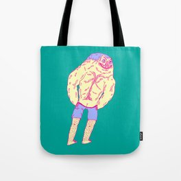 Muscle Butt Tote Bag