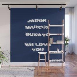 Jadon, Marcus, Bukayo Wall Mural