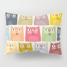 summer cats Pillow Sham