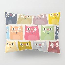 summer cats Pillow Sham