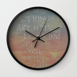 Inspiration I Wall Clock