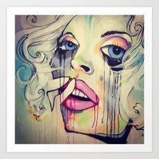 Soul Storm Art Print