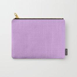 Mid Lavender - Plain Block Color - Lilac / Purple / Spring / Summer / Pastel Carry-All Pouch