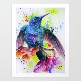 Just About to Fly Art Print
