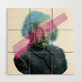 Einstein! Wood Wall Art