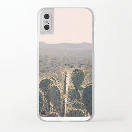 Arizona Cacti Clear iPhone Case