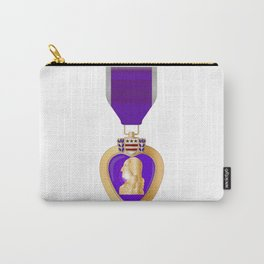 Purple Heart Medal Carry-All Pouch